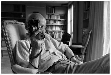 Henri Cartier-Bresso, photo by John Loengard