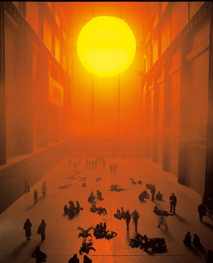 Olafur Eliasson, The Weather Project, Tate Modern, 2003
